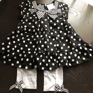 NWT Pumpkin Patch dress set